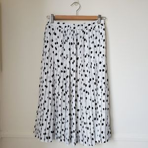 Banana Republic Black & White Skirt XS